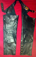 """Leather Chaps Size 40 """"Open Road Collection"""""""
