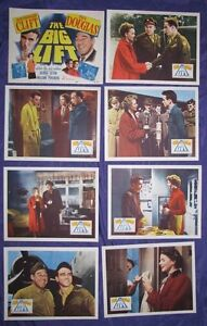 ORIGINAL LOBBY CARD SET 1950 THE BIG LIFT MONTY CLIFT