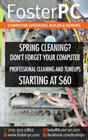 Spring cleaning? Don't forget your about your computer!