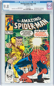AMAZING SPIDERMAN 246 CGC GRADED 9.8