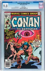 CONAN THE BARBARIAN 79 CGC 9.8