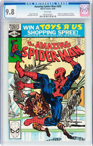 AMAZING SPIDERMAN 209 CGC 9.8 FIRST APPEARANCE OF CALYPSO