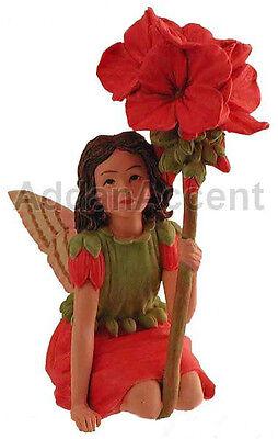 GERANIUM FAERY Flower Fairy Ornament Cicely Mary Barker faerie figurine