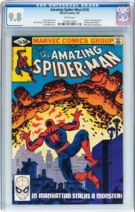 AMAZING SPIDERMAN 218 CGC GRADED 9.8 FRANK MILLER COVER