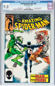 AMAZING SPIDERMAN 266 CGC GRADED 9.8