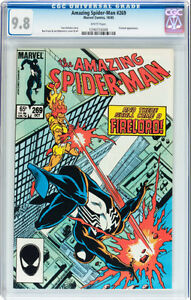AMAZING SPIDERMAN 269 CGC GRADED 9.8 FIRELORD APPEARANCE