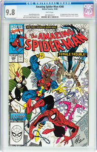 AMAZING SPIDERMAN 340 CGC 9.8 FIRST APPEARANCE FEMME FATALES
