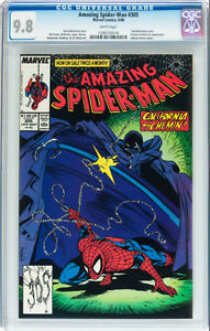 AMAZING SPIDERMAN 305 CGC GRADED 9.8 PROWLER BLACK FOX