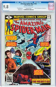 AMAZING SPIDERMAN 195 CGC 9.8