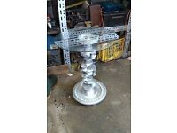 **ONO** Upcycled Car part Glass Table