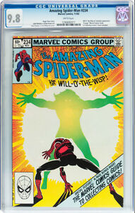 AMAZING SPIDERMAN 234 CGC GRADED 9.8