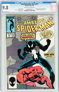 AMAZING SPIDERMAN 287 CGC GRADED 9.8