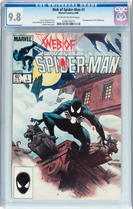 WEB OF SPIDERMAN 1 CGC GRADED 9.8 FIRST VULTURIONS