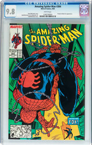 AMAZING SPIDERMAN 304 CGC GRADED 9.8 PROWLER BLACK FOX