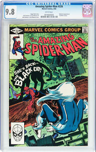 AMAZING SPIDERMAN 226 CGC 9.8 BLACK CAT APPEARANCE