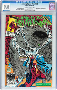 AMAZING SPIDERMAN 328 CGC GRADED 9.8 COVER & ART MCFARLANE HULK