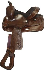 """10"""" 12"""" 13"""" inch Youth Pony Western Saddle Leather New $297 DEAL London Ontario image 3"""