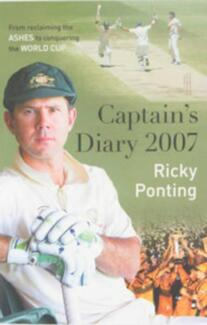 Captain's Diary 2007, by Ricky Ponting-- Brand new condition
