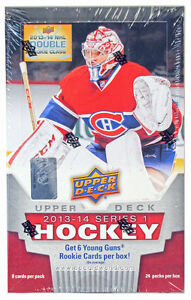 HOBBY BOX ... 2013-14 UPPER DECK .. SERIES 1 - NATHAN MacKINNON?