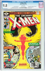 UNCANNY X-MEN 125 CGC 9.8 FIRST APPEARANCE OF MUTANT X