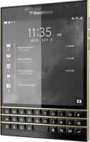 BlackBerry Passport LIMITED EDITION Black & Gold - 32GB - 12/50