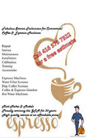 GTA Commercial Espresso and Coffee Machines Service