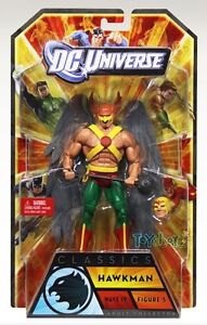 DC Universe Wave 19 Classic Hawkman Figure STRIPE Series NEW SEALED INSTOCK