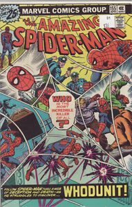 AMAZING SPIDERMAN COMIC BOOK 155