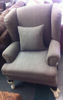 New Beautiful Wing Chair Made In Canada