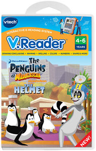 Vtech V.Reader Animated E-Book Reader - Penguins