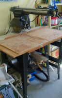 "Radial Arm Saw 10"" with Table"