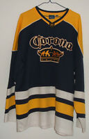 Chandail Hockey Corona Extra Bar Restaurant Bière Beer Jersey