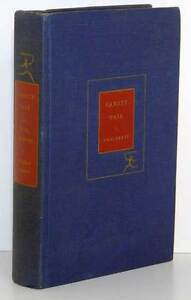 Antique/Vintage Book: Vanity Fair by W.M. Thackeray