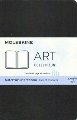 Moleskine Art Watercolour Notebook, Pocket, Black, Hardcover by Moleskine (CO...
