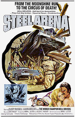 Steel Arena - 1973 - Movie Poster