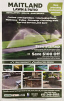 Interlock ,Driveways Steps Walkways Irrigation and more!