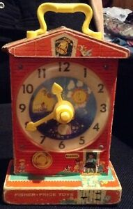 VINTAGE 1962 MUSIC BOX TEACHING CLOCK TOY. F-P #998 Gatineau Ottawa / Gatineau Area image 1