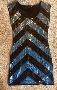 Sequin Dorothy Perkins dress straight from London  Strathcona County Edmonton Area image 1