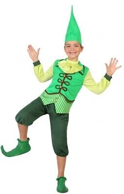 Jungen Mädchen Frecher Weihnachten Elfen Imp Kostüm Kleid Outfit 3-12 - Freche Elfen Kostüm