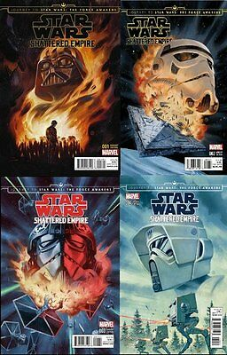 JOURNEY STAR WARS FORCE AWAKENS SHATTERED EMPIRE 1,2,3,4 DISPOSABLE HEROES SET