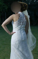 ROBE DE MARIEE PRONOVIAS (ST PATRICK) WEDDING DRESS $1,200