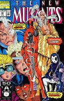 The New Mutants #98! First DEADPOOL! (9.0)