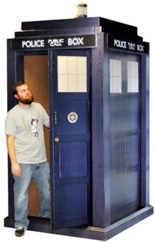 Doctor Who 3D Tardis Life Size 55' X 108' Police Box BBC Syfy
