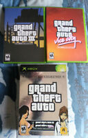Xbox Grand Theft Auto Rockstar Games Double Pack