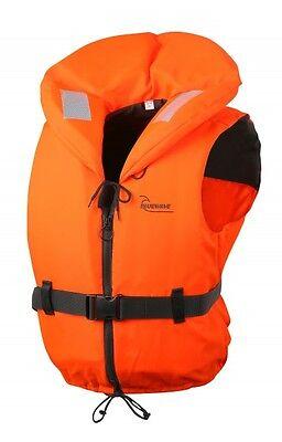 Bluewave Adult X-Large 100N Orange Lifejacket for persons 90Kg +