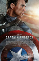 Poster - Affiche Captain America : The First Avenger