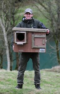 Barn Owl Nest Box (Direct from the Barn Owl Centre)