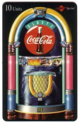TK USA Telefonkarte/Phonecard 50u:Set of 5 Coca-Cola Jukebox im Folder (Calling Card Box)