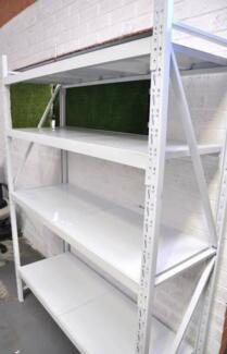 BUSINESS HOME WAREHOUSE 400KG STEEL STORAGE SHELVING RACKING