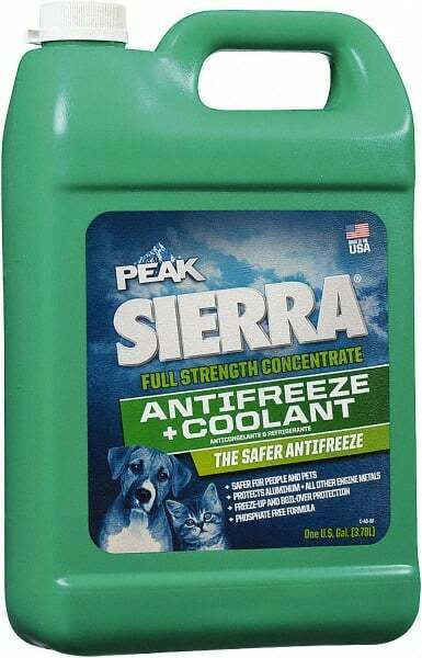 Peak SEP003 Sierra Antifreeze & Coolant with Propylene Glycol, 1 Gallon